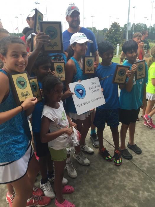 Jr Tennis State Champs 2